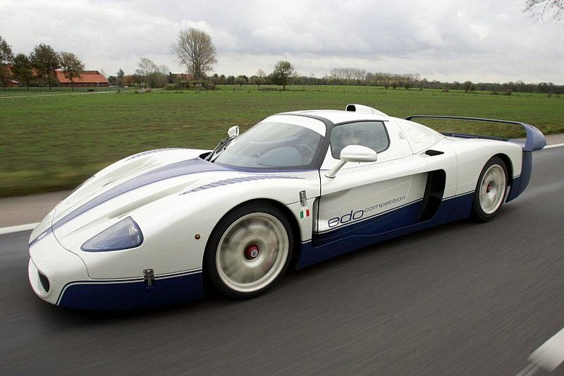 WCF Test Drive: Maserati MC12R by Edo