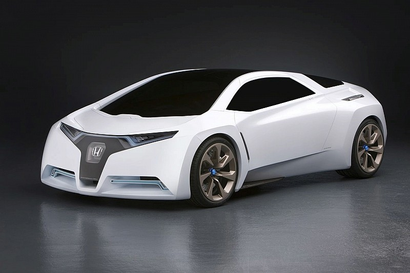 Honda FC Sport Design Concept Surprise Reveal at L.A. Auto Show