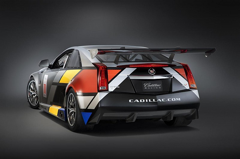 Cadillac CTS-V Racing Coupe unveiled