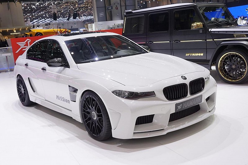 BMW M5 Mi5Sion by Hamann launched in Geneva