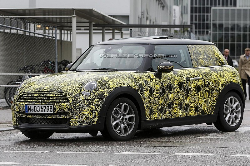 2014 MINI Cooper spied testing in Germany