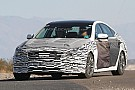 2014 Hyundai Genesis spied wearing less camo