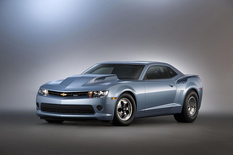 NHRA ready 2014 Chevrolet COPO Camaro bows at SEMA