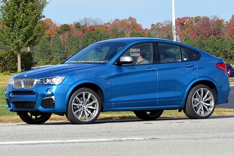 Long Beach Blue BMW X4 M40i in Real World Pictures  BMW X4 Forum