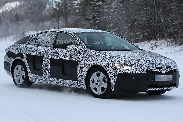 Opel Insignia spied near the Arctic Circle