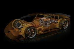Splinter Supercar Made of Wood
