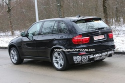 BMW X5 M spy photos in Munich
