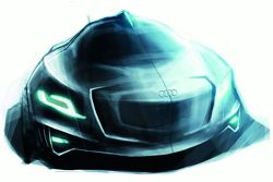 Audi Intelligent Emotion future mobility concept sketch by Sylvain Wehnert