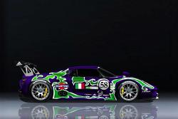Porsche 918 RSR Race Car Rendering
