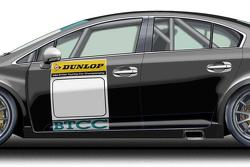 Toyota Avensis Next Generation Touring Car (NGTC) racing concept illustration 10.09.2010