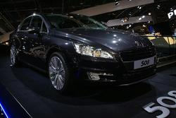 Peugeot 508 live in Paris 30.09.2010