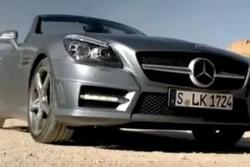 2012 Mercedes SLK promotional video leak - 12.3.2010
