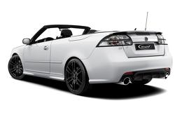 Hirsch Performance aerodynamic package for Saab 9-3 convertible, 11.01.2011