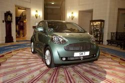 Sir Stirling Moss Aston Martin Cygnet 12.07.2011