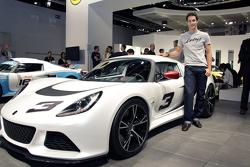 2012 Lotus Exige S live in Frankfurt with Bruno Senna 13.09.2011