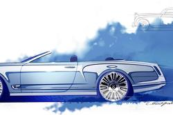 Bentley Mulsanne Convertible concept (sketch)