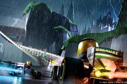 F1 race stars action screenshot