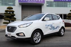 First production Hyundai ix35 Fuel Cell 26.2.2013