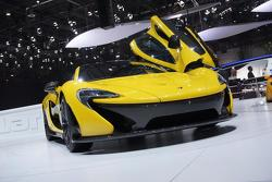 McLaren P1 production supercar at 2013 Geneva Motor Show