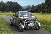 Toyota will show this peculiar KIKAI steampunk hot rod concept in Tokyo