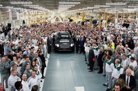 First production Bentley Bentayga