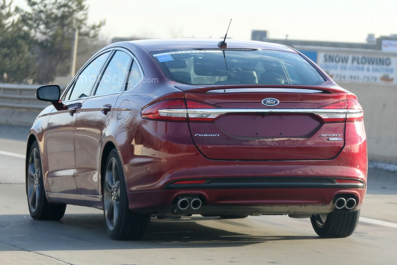 spied 2017 ford fusion mce caught undisguised ahead of. Black Bedroom Furniture Sets. Home Design Ideas