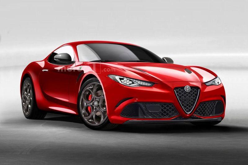 Alfa Romeo 6C fr rendering